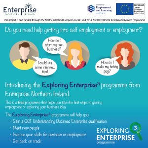 Exploring 3 Enterprise programme